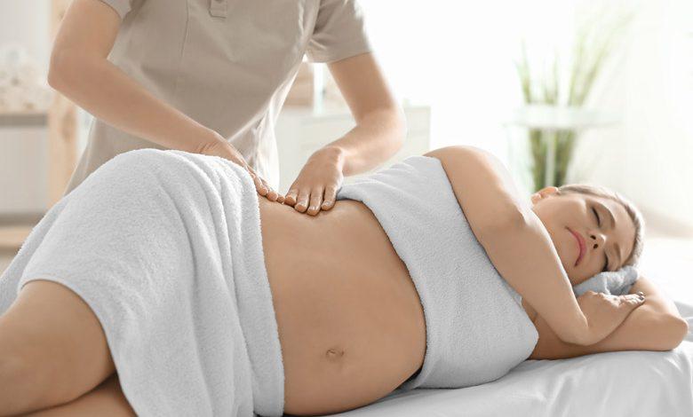 Masaža v nosečnosti
